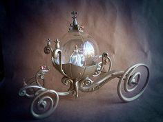 RARE!!! Disney Cinderella MAGICAL PUMPKIN COACH Carriage LE Snow Globe Snowglobe    eBay