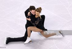 Kristen Moore-Towers and Michael Marinaro of Canada compete during Day 5 of the ISU World Figure Skating Championships 2016 at TD Garden on April 1, 2016 in Boston, Massachusetts.