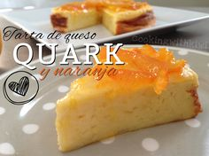 Tarta De Queso Quark Y Naranja