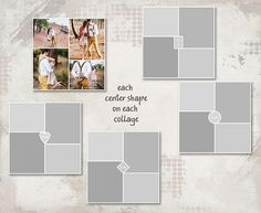 Storyboard Templates X Photo Collage Templates Layered