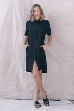 TGB EcoFashion Shop at http://the-great-beyond.com/product/black-bianca-dress/ | Free Shipping Bamboo Clothing