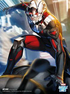 Marvel Battle Lines Marvel Storyline, Marvel Films, Marvel Characters, Ant Man Scott Lang, Marvel Comics Art, Marvel Heroes, Marvel Avengers, Marvel Universe, Ant Man Comic