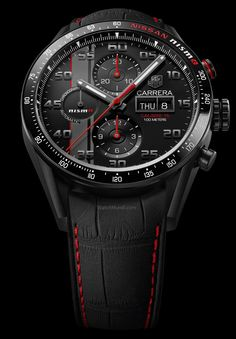TAG Heuer - Carrera Nismo. Calibre 16 Day-Date Chronograph Special Edition.