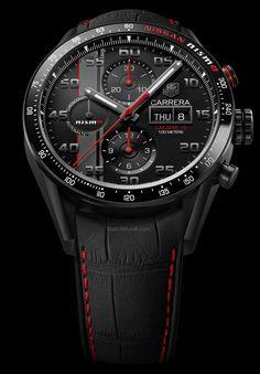 TAG Heuer - Carrera Nismo. Calibre 16 Day-Date Chronograph Special Edition.