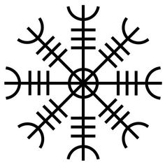 The Helm of Awe. Ancient protective talisman of the Norse ---but the true nature of its magic has many interpretations. Viking Tattoo Symbol, Rune Tattoo, Norse Tattoo, Viking Tattoos, Compass Tattoo, Demon Tattoo, Tattoo Symbols, Elmo, The Helm Of Awe