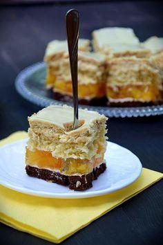 Sweet Recipes, Cake Recipes, Dessert Recipes, Desserts, Sweets Cake, Polish Recipes, Homemade Cakes, Cakes And More, Diy Food