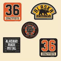 36 CRAZYFISTS. Music BandsGood MusicStickersCollectionAlaskaProductsHockeyBeauty  ProductsGadget. 36 Crazyfists x PUCK HCKY hockey apparel ... 9fe5fd078