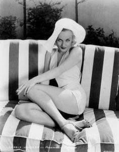 Outdoor Living as personified by Carole Lombard.
