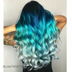 Are you looking for unique hair color ideas for winter and spring? See our collection full of unique hair color ideas for winter and spring and get inspired! hair, 82 Unique Hair Color Ideas For Winter and Spring Diy Ombre Hair, Blue Ombre Hair, Ombre Hair Color, Cool Hair Color, Blonde Color, Unique Hair Color, Blonde And Blue Hair, Ombre Hair Rainbow, Amazing Hair Color