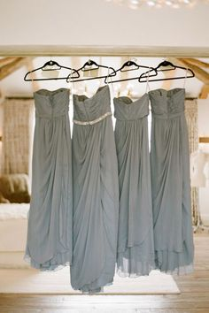 maid of honor will have a tiny little belt to distinguish her from the other bridesmaids