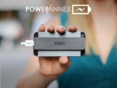 Power Annex - Adhesive, Slim Profile External Battery by Kegan & Roberto — Kickstarter