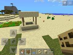 This is a sand-well in my first sand village.