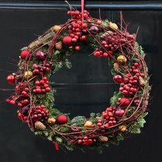 Zdjęcie nr 9: Wieniec świąteczny – zrób go sam - galeria - Ciekawostki - Ogród - Infor.pl