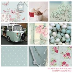 VW Campervan Colour schemes by daydreamdesignsnorthwales, via Flickr