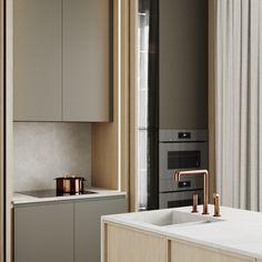 kitchen Home Design, Apartment Interior Design, Kitchen Design, Kitchen Ideas, Furniture Design, Sweet Home, New Homes, Kitchen Cabinets, Layout
