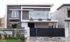 54 Ideas Screen Facade House Home Duplex House Design, House Front Design, Small House Design, Modern Exterior House Designs, Modern House Design, Exterior Design, Villas, Room Door Design, Gate Design