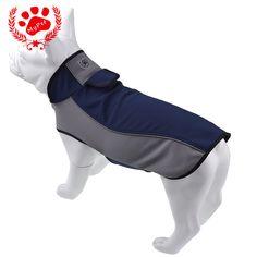 Waterproof Winter Dog RainCoats Jacket Warm Outdoor Safety Supplies Dog all size #Kugo