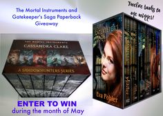 The Mortal Instruments and Gatekeeper's Saga Paperback #Giveaway
