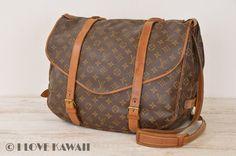Louis Vuitton Monogram Saumur 43 Shoulder Bag M42252