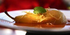 Pære med ingefær - Nydelig pæredessert med morsomme smaker. Biryani, Pudding, Eat, Food, Meal, Eten, Puddings, Meals, Avocado Pudding