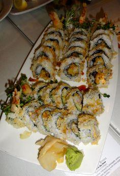 Sansei's California Shrimp Tempura Sushi