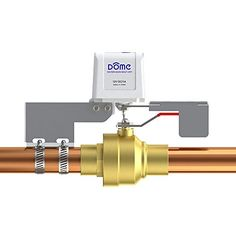 Dome ZWave Plus Water Main ShutOff DIY Installation Over Existing 14 Turn Valves For Pipes Up To 1 12Inches DMWV1 * You can find more details by visiting the image link.(It is Amazon affiliate link) #followforfollow