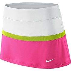 Nike Court Dri-FIT Tennis Skort Women's athletic skirt pink/lime/wh (L) Nike http://www.amazon.com/dp/B00KLMFPIY/ref=cm_sw_r_pi_dp_XD30vb16PX56X