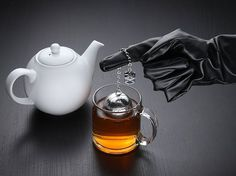 At my funeral, each attendee will receive a Death Star tea ball to take home and remember me by. Seriously. -KMM