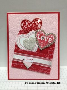 """Cute envelope of """"Love"""" Valentines Card by Leslie Gipson ♥♥♥"""