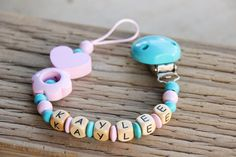 Hey, I found this really awesome Etsy listing at https://www.etsy.com/listing/245650143/personalized-pacifier-clip-wooden
