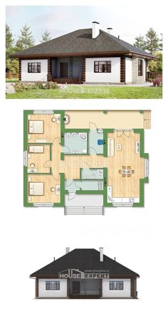 Ev villa projesi 135-003-R | House Expert