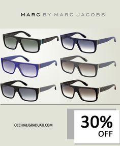 Marc By Marc Jacobs 2014 Fashion Show Sunglasses -30% su OcchialiGraduati.com  #sunglasses #shopping #style #ss2014 #summer #fashion #glassesonline #marcjacobs