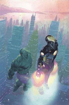 Marvel NOW! Variant For AVENGERS #2