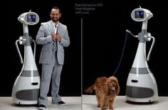 The Luna Personal Robot by SchultzeWORKS Will Take Your Pup Around the Block #robots #technology trendhunter.com