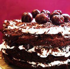 frozen wings: Black Forest Cake