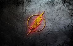 The Flash Wallpaper Flash logo Wallpaper in Your Wall