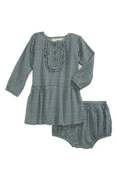 Stella McCartney Kids 'Jodie' Polka Dot Dress & Bloomers (Baby Girls)