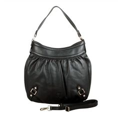 Karla Hanson - Black Hobo Bag - $199.00/each This Ladies Fashion Crossbody Bag is made from cow leather with a golden finish, approximately 32 x 6 x 33-21 cm. Presented by www.ecomcreator.com Leather Crossbody Bag, Leather Bag, Ladies Fashion, Womens Fashion, Green And Purple, Hobo Bag, Cow Leather, Bag Making, Bucket Bag