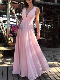 Princess Prom Dresses, Flowy Simple Cheap Long V-Neck Pink Prom Dresses Party Dresses, Plus Size Formal Dresses and Plus Size Party Dresses are great for your next special Occassion at cheap affordable prices The Dress Outlet. Flowy Prom Dresses, Prom Dresses Under 100, Junior Bridesmaid Dresses, Prom Party Dresses, Party Gowns, Formal Evening Dresses, Cheap Dresses, Occasion Dresses, Pink Dresses