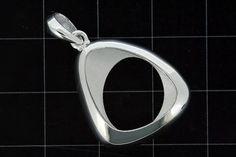 925 Sterling Silver Shell design Pendant (Stock)