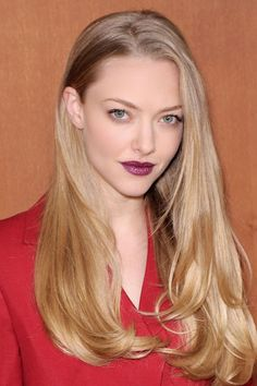 Lady is a Vamp: Best Dark Lips of 2012 - Amanda Seyfried