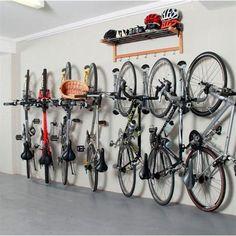 Lovely Garage Bike Rack, Garage Bike Storage, Garage Shelving, Bicycle Storage,  Diy Garage, Garage Organization, Organization Ideas, Storage Ideas, Bike  Storage ...