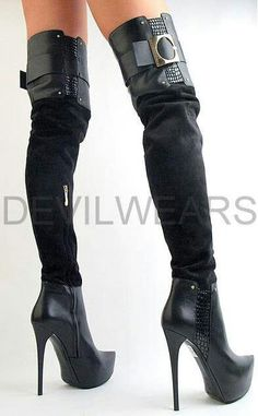 ..A bit on the wild side; but what guy wouldn't like to try what's under those sexy boots?
