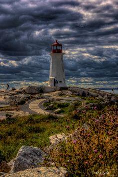 Peggy's Cove, Nova Scotia, Canada- it was freezing when we were there the first time. Torre Cn, Ottawa, Beautiful World, Beautiful Places, Ontario, Atlantic Canada, Photo Images, Nova Scotia, East Coast