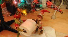 La chasse aux lutins de Noël 2014 - Le sapin en papier de toilette