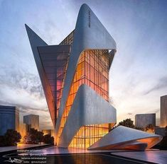 This building is a beauty for the world of architecture! is part of Architecture - Futuristic Architecture, Facade Architecture, Sustainable Architecture, Amazing Architecture, Contemporary Architecture, Landscape Architecture, Ancient Architecture, Architecture Geometric, Classical Architecture