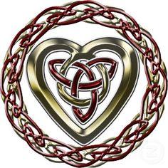 beautiful celtic heart
