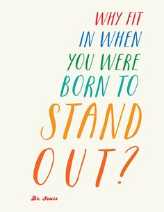 Something for all of us to remember. Suess Quote // Boys and Girls Colorful Nursery Art by PetitInk Quotable Quotes, Motivational Quotes, Inspirational Quotes, Cute Quotes, Great Quotes, Quotes For Kids, Quotes To Live By, Dr Suess Quotes, Art Prints Quotes