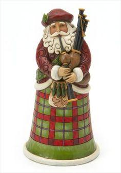 Scottish Santa - Nollaig Chridheil - Jim Shore