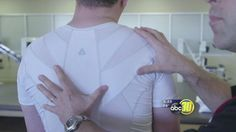 Relieving back pain with a posture shirt